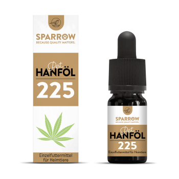 Sparrow Pet CBD Öl 225 10ml (2%)